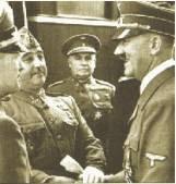 Entrevista de Hitler y Franco en Endaya. 1940