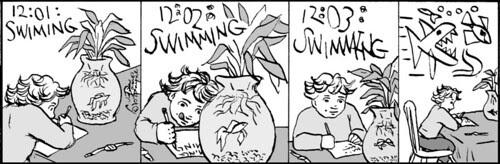 Home Spun comic strip #452