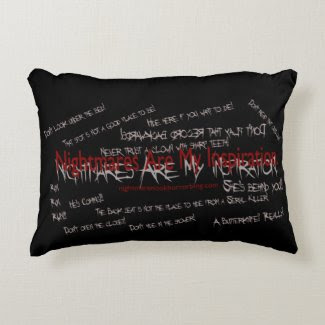 Scary Pillows Accent Pillow