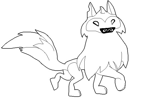Animal Jam - Free Arctic Wolf Base by FiveNightsAtChesters ...