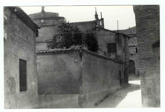 Iglesia de San Andrés hacia 1970. Colección Luis Alba. Ayuntamiento de Toledo