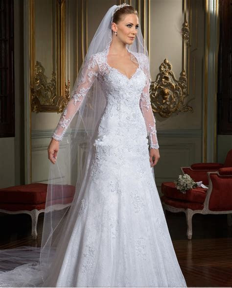 2014 Best selling Backless Wedding Dresses Long Sleeves