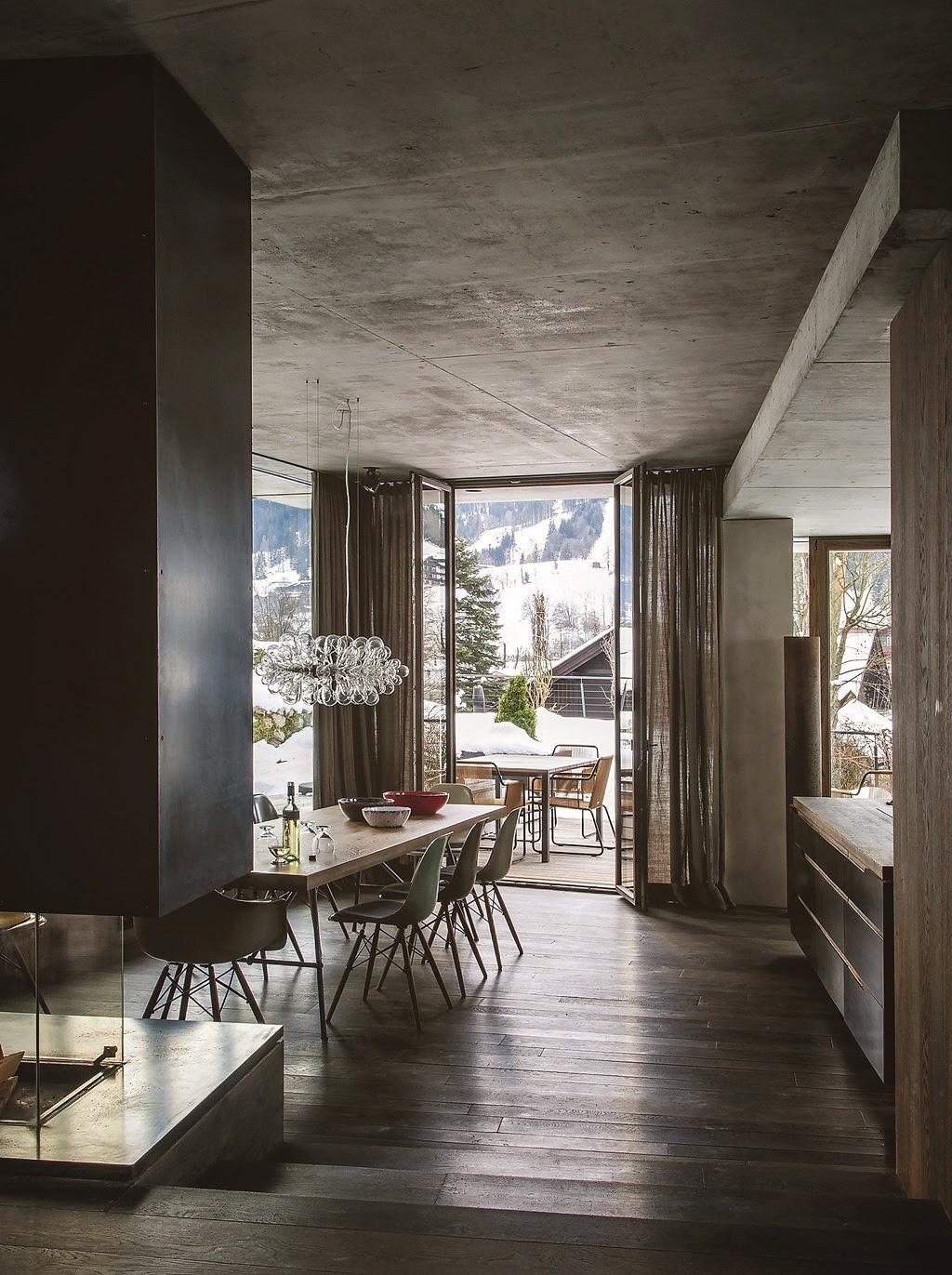 A modern chalet in austria for Interior design osterreich