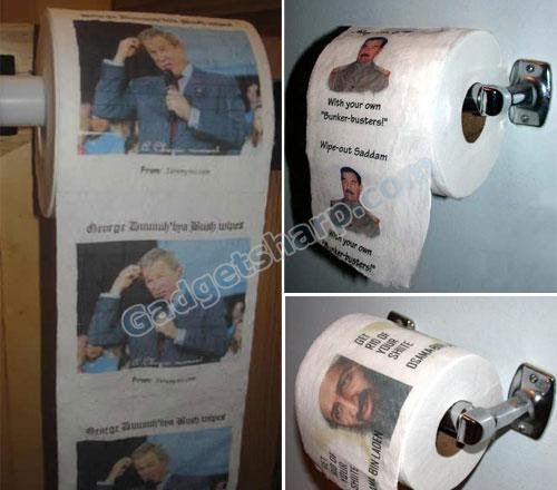 Political toilet roll
