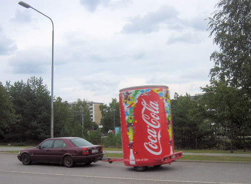 Coca-Cola on the road