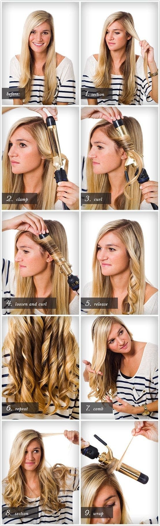 Another way to curl hair