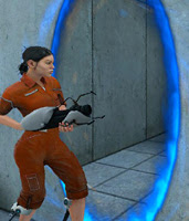 Chell - Portal's protagonist
