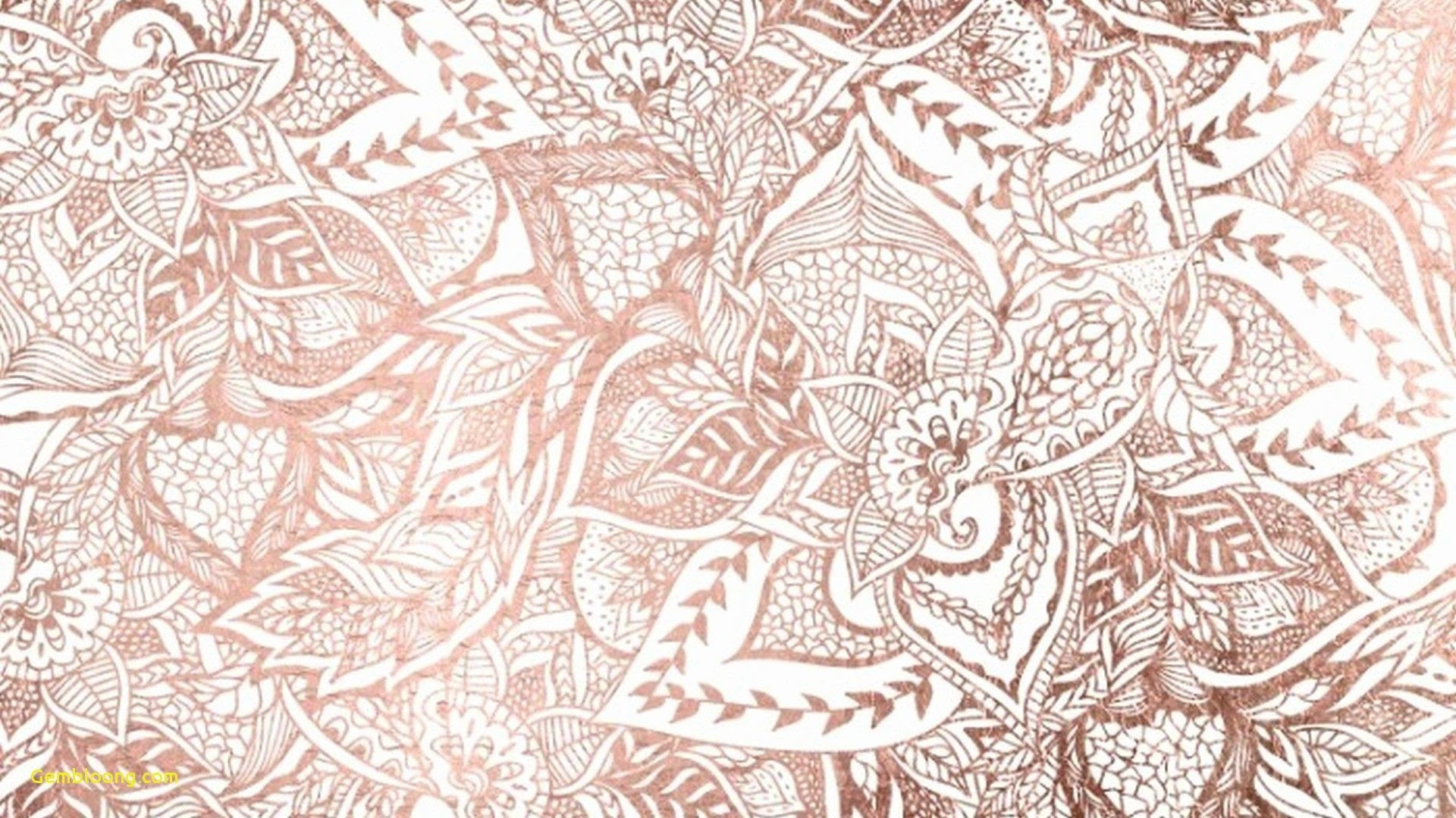 Rose Gold Marble Desktop Wallpaper Hd