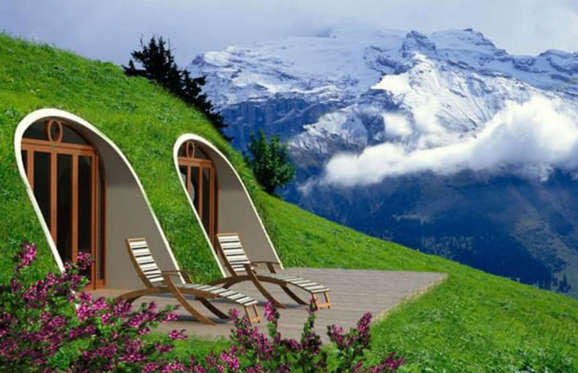 Having your own hobbit home costs around $42 (£30) per square foot, so for 1,000 square feet you've only got to pay $41,000 (£29,000), which is basically nothing when you think about how incredible it would be to pop home to your little underground nest.