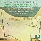 Zemlinsky: String Quartet; String Quintet; Schoenberg: String Quartet; Trio