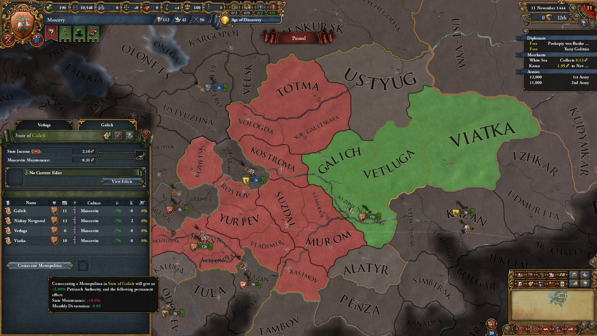 The Russians are coming for Europa Universalis IV screenshot