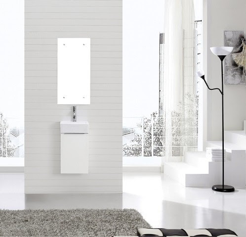 Illiana - Mini Vanilty - contemporary - bathroom vanities and sink ...