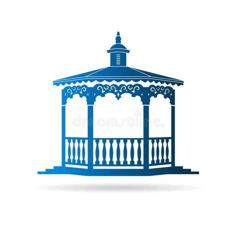 Wedding Gazebo Logo Stock Vector   Image: 55977736