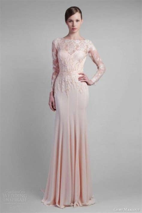 17 Best ideas about Blush Wedding Gowns on Pinterest