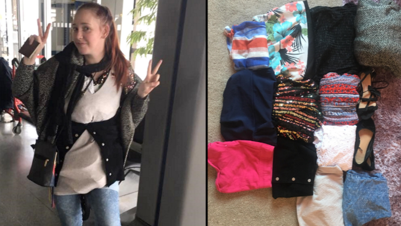 Mum Dodges Thomas Cook Excess Baggage Charge By Wearing 4kg Of Her Clothes