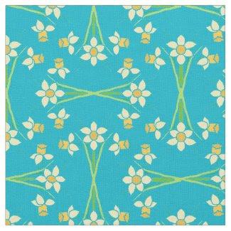 Pretty Yellow Daffodils Fabric to Customize