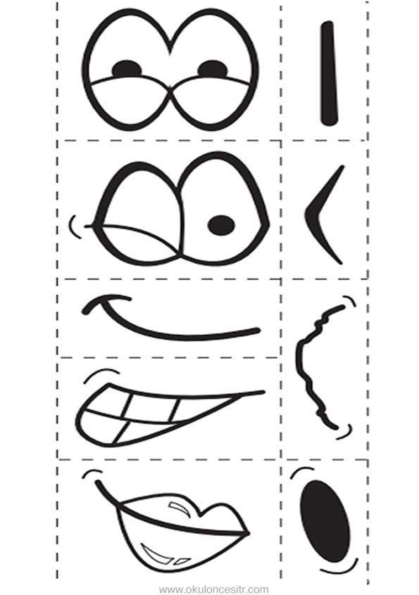 Duygu Grafiği Kalıbı Okulöncesitr L Preschool