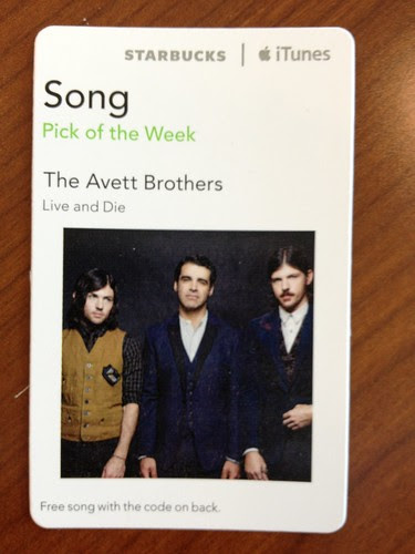 Starbucks iTunes Pick of the Week - The Avett Brothers - Live and Die