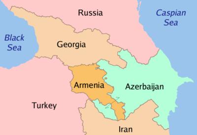 Países do Cáucaso