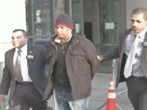 Rubelín Segura, acusado de robar boleto premiado de lotería a un amigo en Nueva York (imagen cortesía ny1noticias.com.