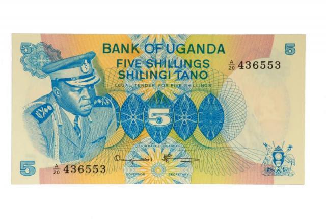 Uganda - Background (Dictator Idi Amin on Uganda's 1977 Five Shilling Banknote..jpg)