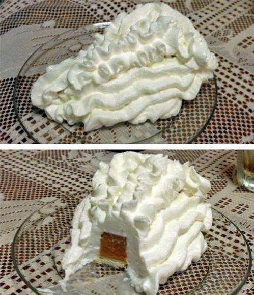 Proper way to eat pumpkin pie