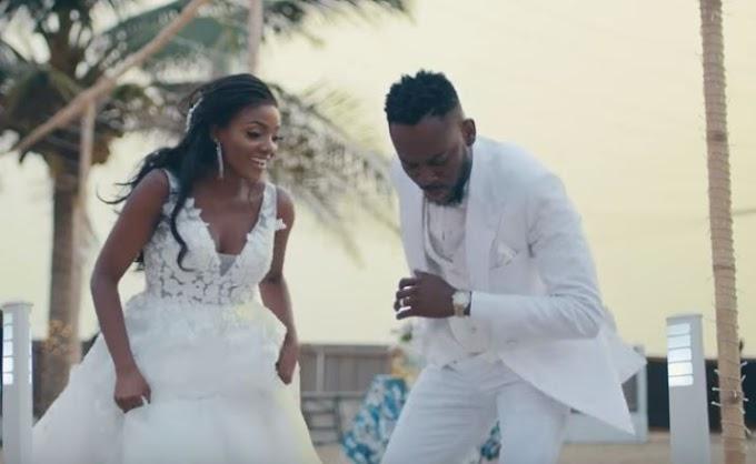 Adekunle Gold releases wedding video with Simi
