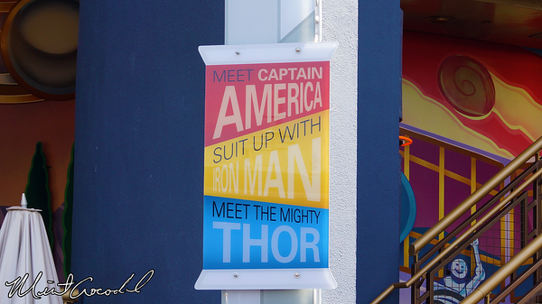 Disneyland Resort, Disneyland, Innoventions, Thor, Iron Man, Captain America