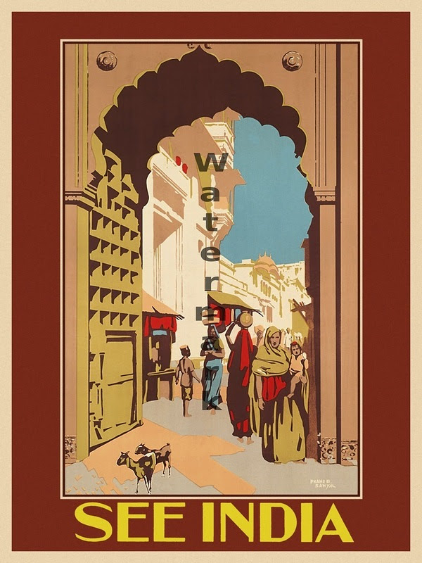 Vintage Travel Advertising Posters Around The World 8 Vintage Travel Advertising Posters Around The World