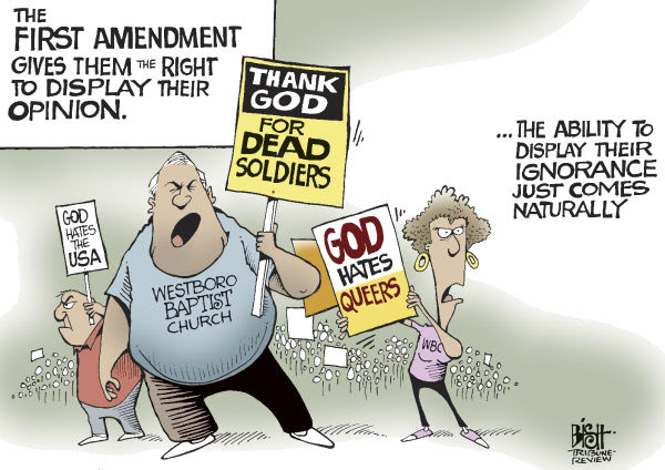 Image result for westboro baptist church cartoons