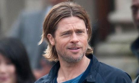 frisyr man långt hår
