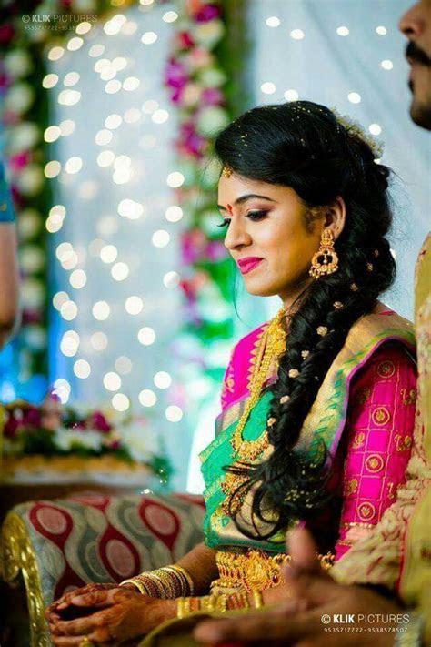 Pin by Rashmi Devaraj on Dress   Indian wedding hairstyles