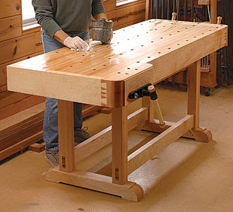 images of Woodworking Workbench Plans