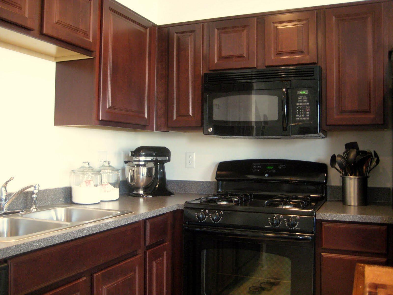 Black Cherry Cabinets - Home Furniture Design