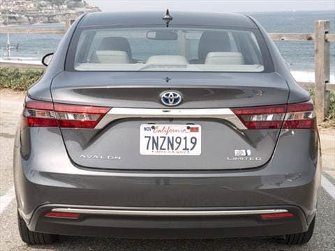 2017 Toyota Avalon Hybrid Limited Pictures & Videos ...