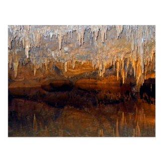 Limpid Underground Cave Pool Postcard