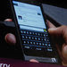 Thorsten Heins, the president and chief executive of Research in Motion, talks about the Blackberry 10 at a conference in San Jose, Calif., in September. He says the phone will restore the company to glory.