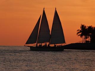 Velero en Key West