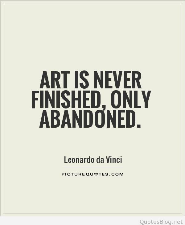 Quotes About Art Leonardo Da Vinci 26 Quotes