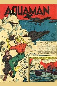More Fun #79 Aquaman Splash Page