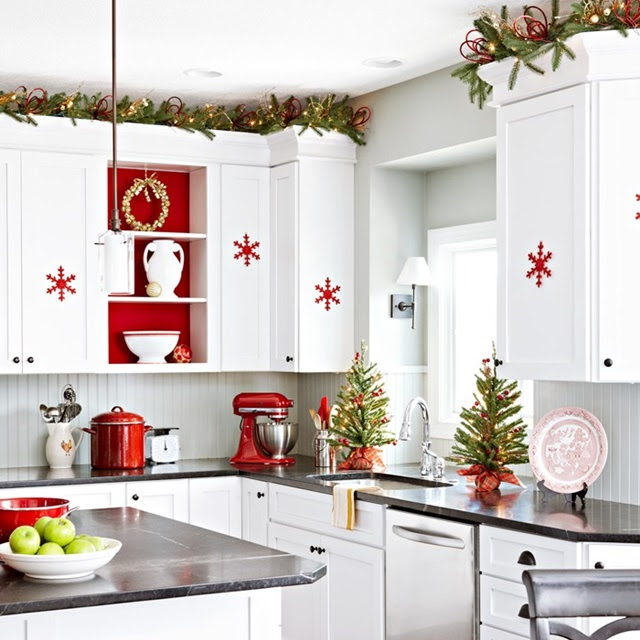 Red And White Kitchen Ideas Dream House