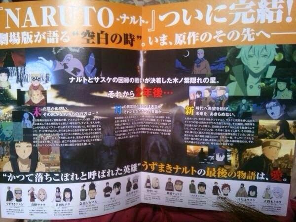 Tudo sobre o último filme de Naruto!