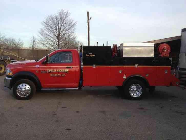 Dodge Ram 4500 Service Welding Truck 2012 Utility Service Trucks