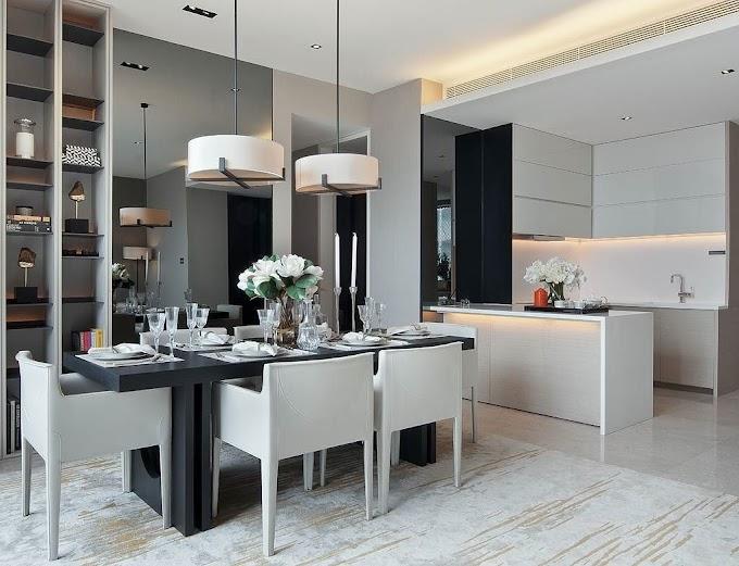Ruang Tamu Menyatu Dengan Ruang Makan | Ide Rumah Minimalis