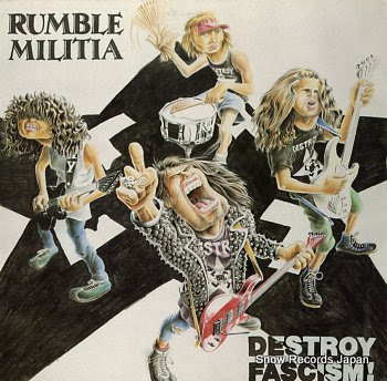 RUMBLE MILITIA destroy fascism