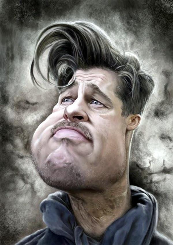 Portrait Caricatures Of Famous Peoples (38)