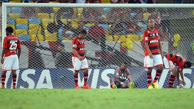 Flamenguistas lamentam derrota e eliminação da Libertadores em pleno Maracanã