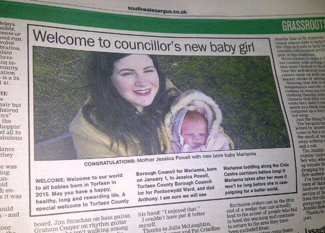 Grassroots feature in South Wales Argus