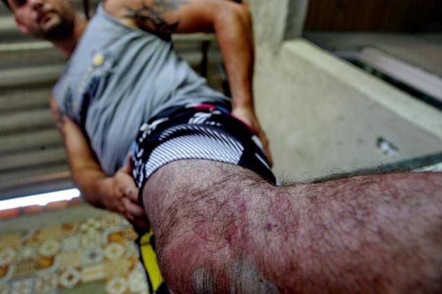 Policiais militares teriam agredido irmãos no 11° BPM em Porto Alegre Lauro Alves/Agencia RBS