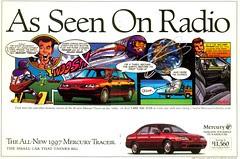 comics ad - Mercury Tracer - Ent Week 96-09-06